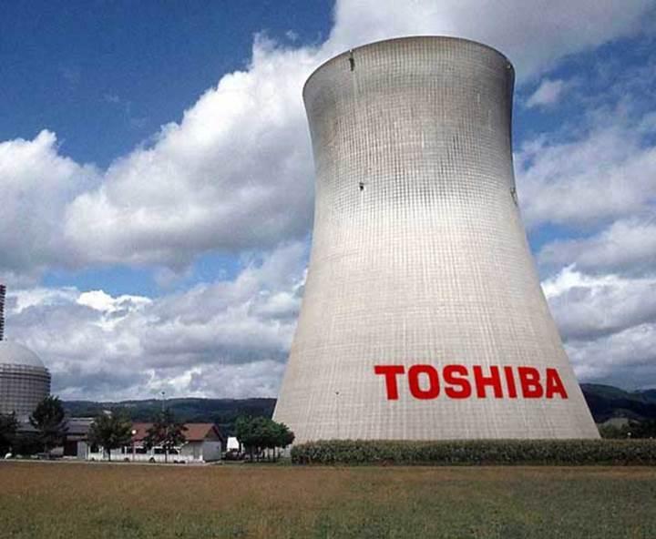 Toshiba nükleer santral işinde milyarlarca dolar zarar etti