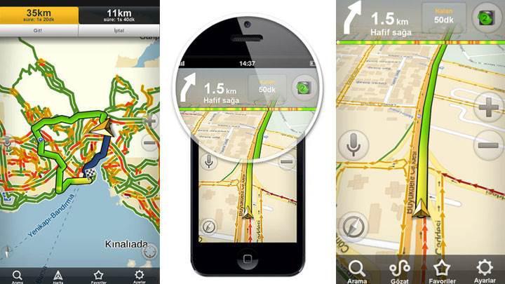 Harita ve navigasyon uygulamaları aslında internetinizi çok az kullanıyor