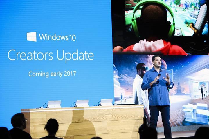 Windows 10 Creators Update güncellemesi Nisan ayında gelecek