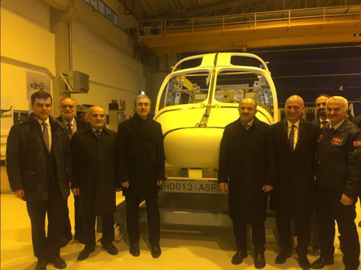 Türkiye'nin ilk %100 yerli helikopteri 2018 yılında havalanacak