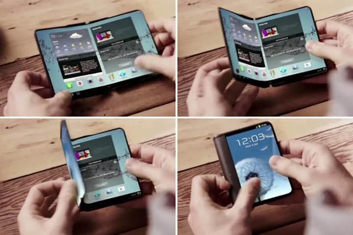 Samsung'un katlanabilir telefonu bu yıl tanıtılabilir