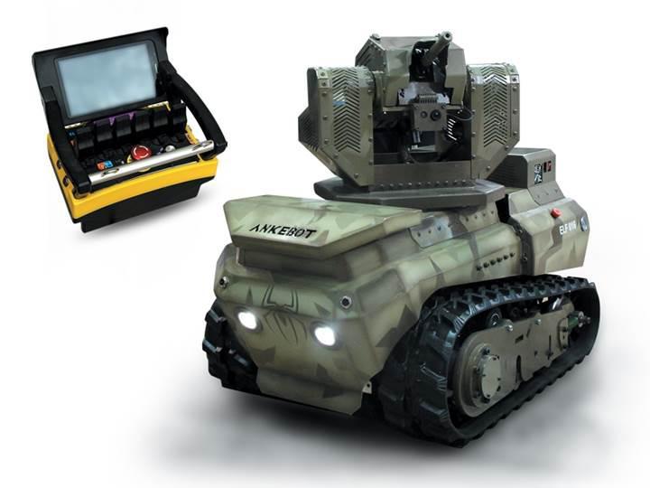 Tehlikeli görevler için yerli insansız kara aracı: ANKEBOT