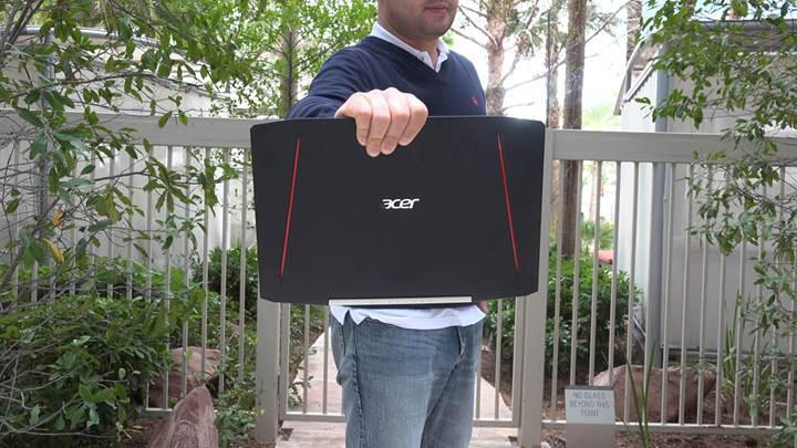 Acer Aspire VX oyun dizüstü bilgisayarı: Fiyat/performans iddiasında