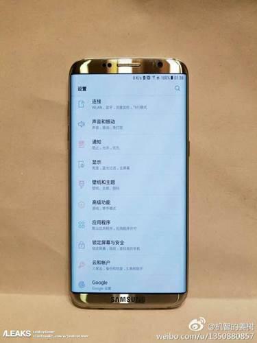 Samsung Galaxy S8'in ilk gerçek görüntüsü sızdırıldı