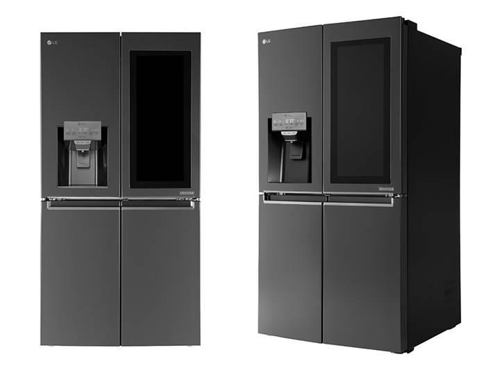 LG'den sesle kontrol edilebilen, LCD ekranlı buzdolabı: Smart InstaView