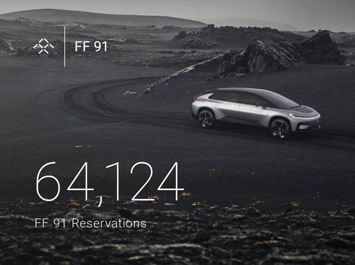 FF 91'den daha çıkmadan büyük başarı: 64 binden fazla ön sipariş