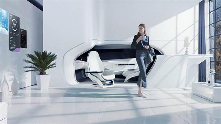 Hyundai'nin Mobility Vision konsepti kelimenin tam anlamıyla arabayı eve bağlıyor