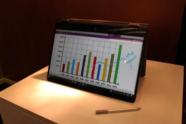 HP Spectre x360: 4K ekran ve harici grafik kartı