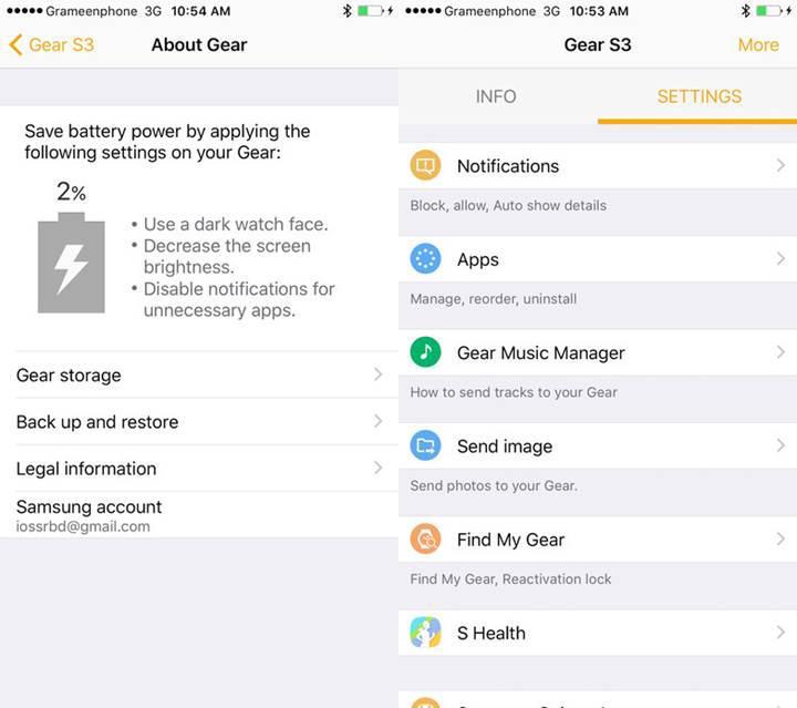 Samsung'un akıllı saatlerine resmi iOS desteği geldi