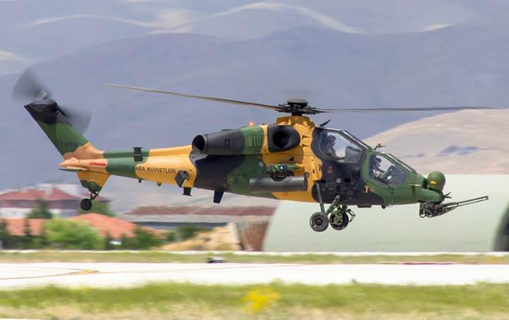 Atak helikopteri, teröristleri ilk kez Cirit'le vurdu