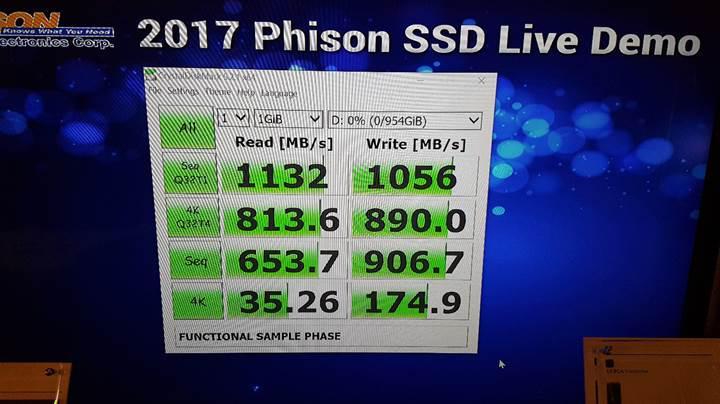 Phison'dan giriş seviyesine SSD kontrolcüler