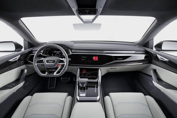 Audi Q8 konsepti Detroit'de görücüye çıktı