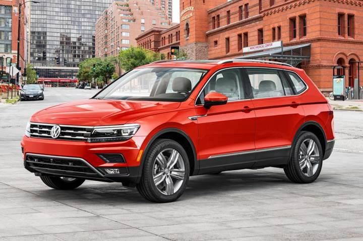 Yedi koltuklu yeni Volkswagen Tiguan Allspace ilk defa Detroit'de sergilendi