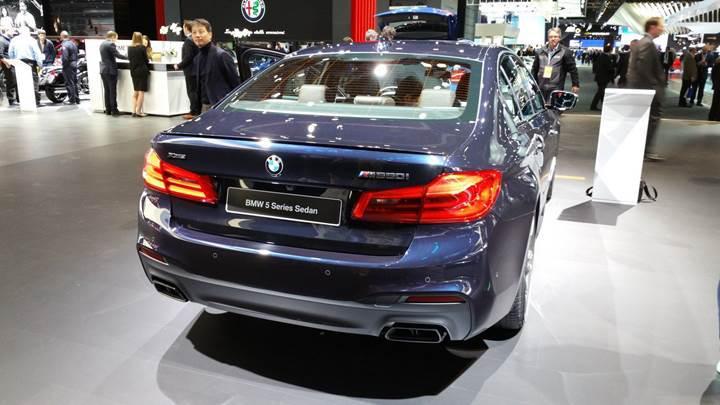 BMW'den şu zamana kadarki en hızlı 5 Serisi modeli: M550i xDrive