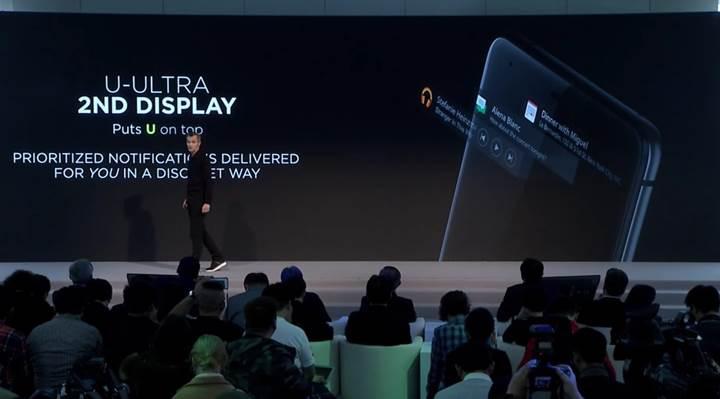 HTC U Ultra resmi: Premium tasarım, çift ekran, gelişmiş yapay zeka