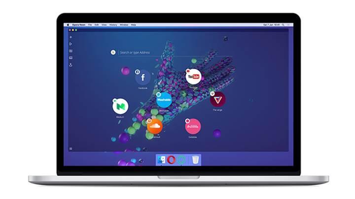 Opera Neon tarayıcı deneyimini değiştirmeye geliyor