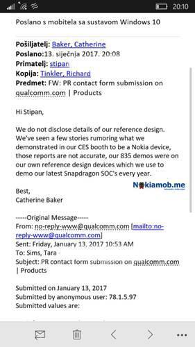 Qualcomm açıkladı: CES 2017'de görüntülenen Nokia 8 gerçek mi?