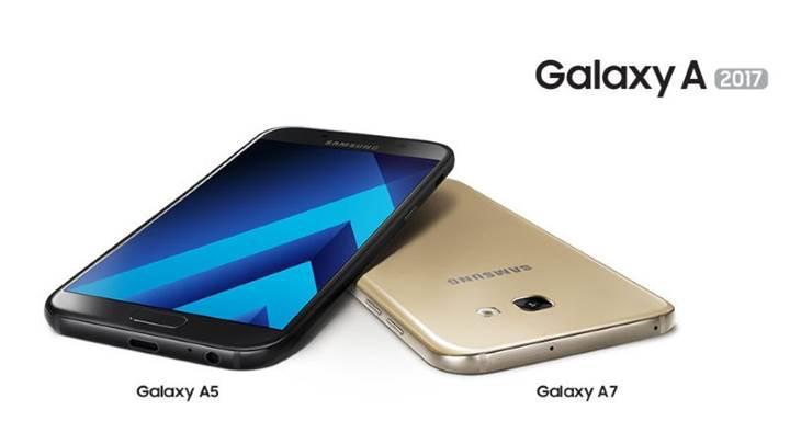 Samsung'un Galaxy A 2017 serisi satışa çıkıyor
