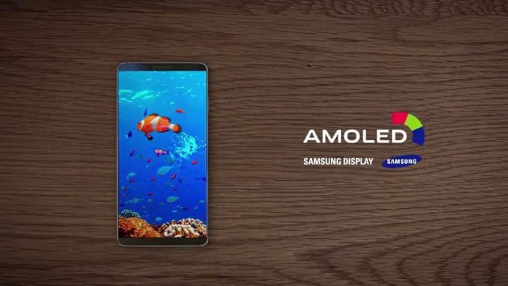 AMOLED ekran tanıtım videolarındaki telefon Samsung Galaxy S8 mi?
