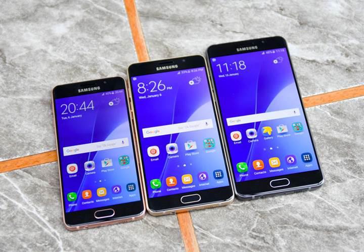 Samsung Galaxy A 2017 serisi ön siparişe açıldı: Türkiye'de ne kadar?
