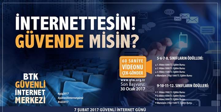 BTK'dan öğrenciler için para ödüllü internet yarışması