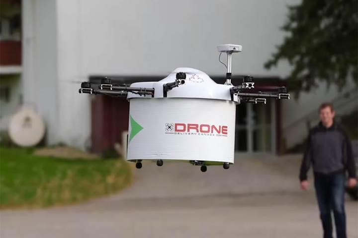 Kanada'dan da drone ile teslimat hamlesi geldi