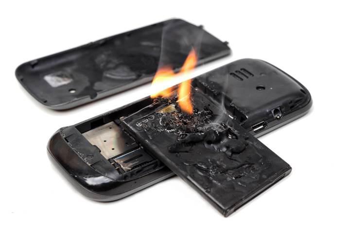 Alev geciktirici piller batarya yanmalarını önleyebilecek