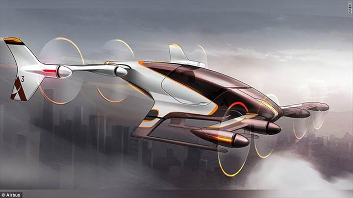 Airbus'ın uçan arabası bu yıl içinde test uçuşlarına başlayacak