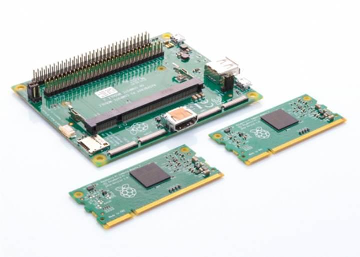 Raspberry Pi Compute Module 3 duyuruldu
