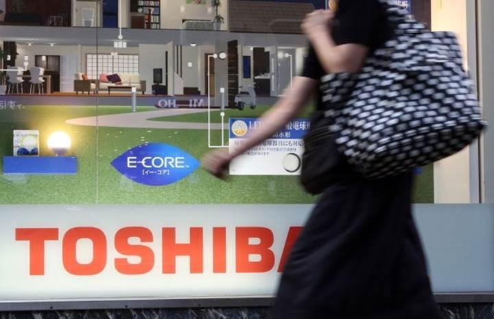 Toshiba flash depolama bölümünü ayırabilir