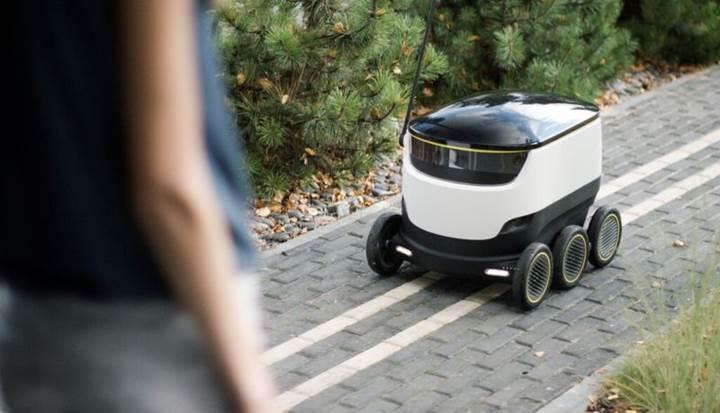 Teslimat robotları ABD'de yola çıkmaya hazırlanıyor