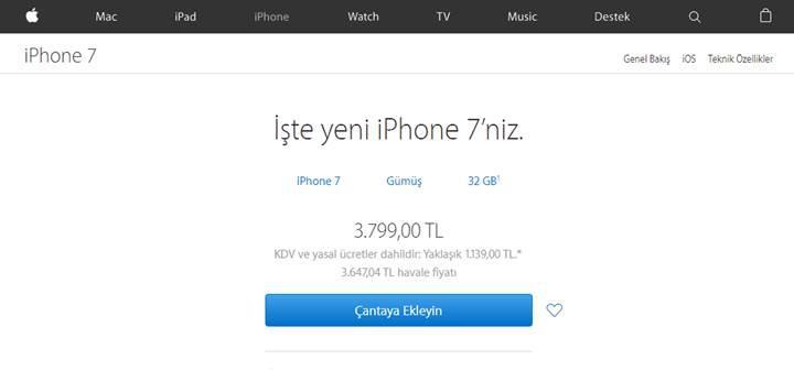 Apple iPhone'a beklenen kur zammı geldi: İşte yeni fiyatlar [Güncellendi]