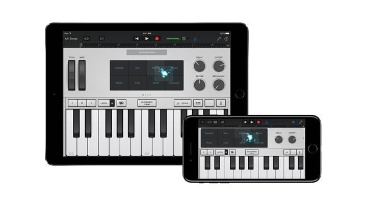 GarageBand ve Logic Pro X uygulamaları güncelleniyor