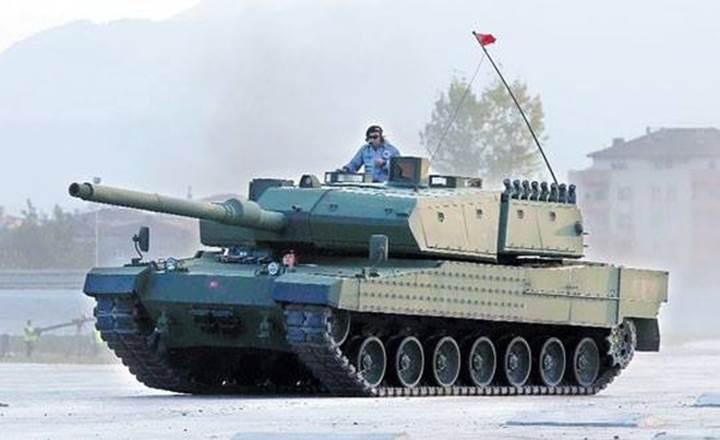 Altay tankı için motor açıklaması geldi