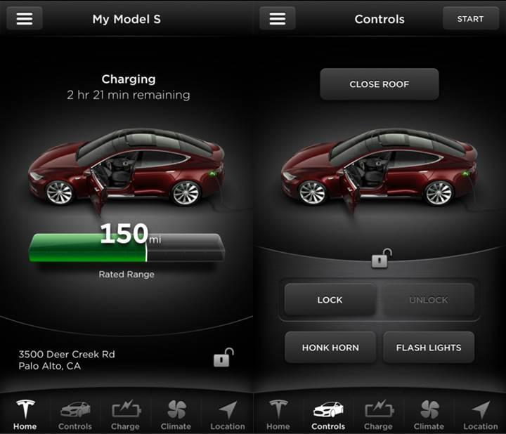 Tesla'nın iOS uygulaması, TouchID entegrasyonuna kavuşacak