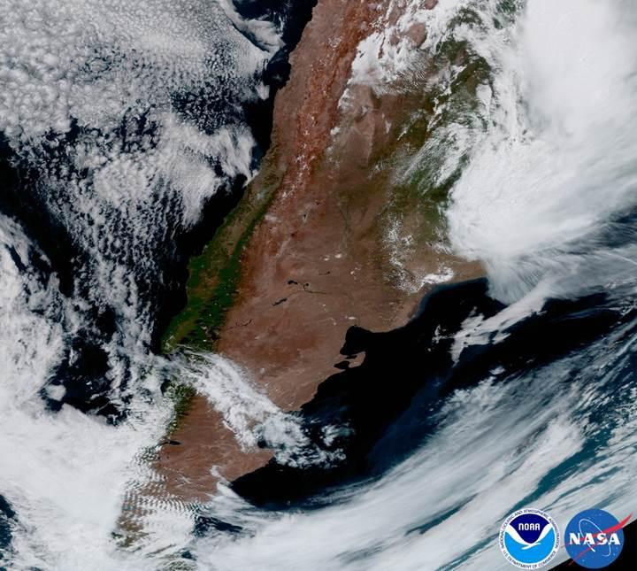 NOAA'nın yeni hava durumu uydusundan ilk fotoğraflar geldi