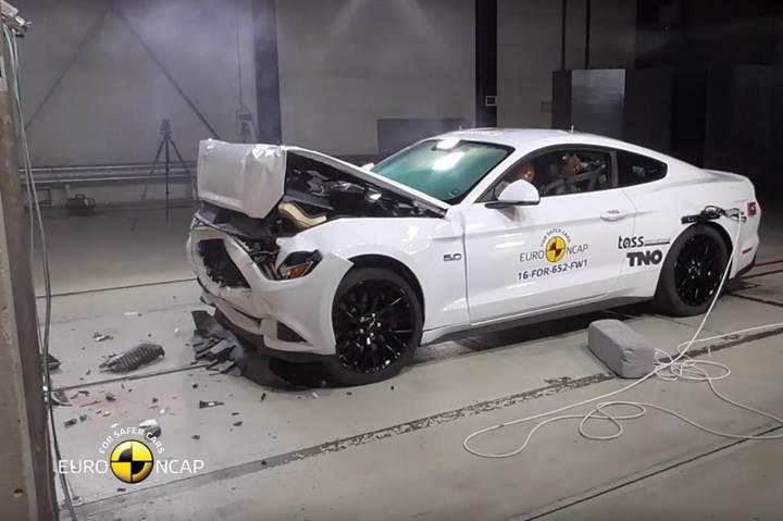 Euro NCAP testlerinden 2 yıldız alan Ford Mustang hayal kırıklığı yarattı