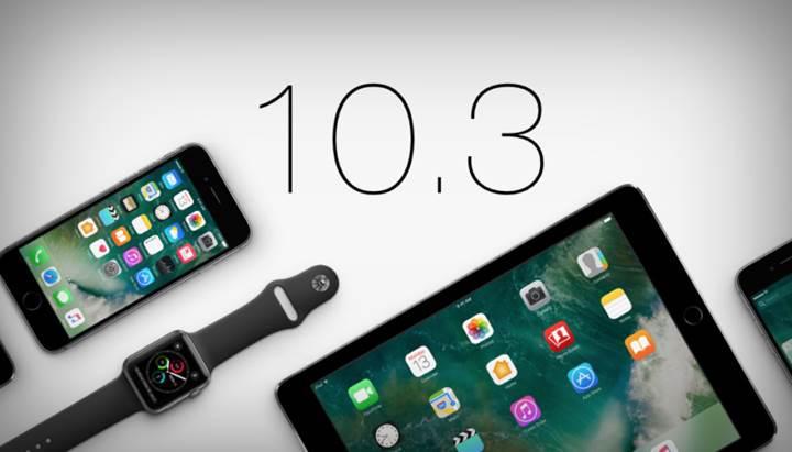 iOS 10.3 ile cihazlar Apple'ın yeni dosya sistemine geçecek