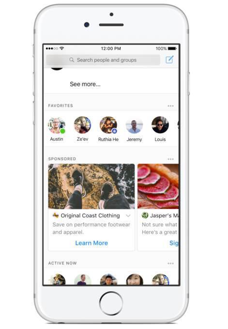 Facebook Messenger'da reklam dönemi başlıyor