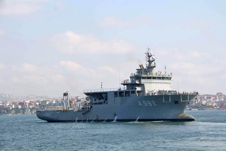 600 metreden denizaltı kurtaracak gemi hizmete giriyor