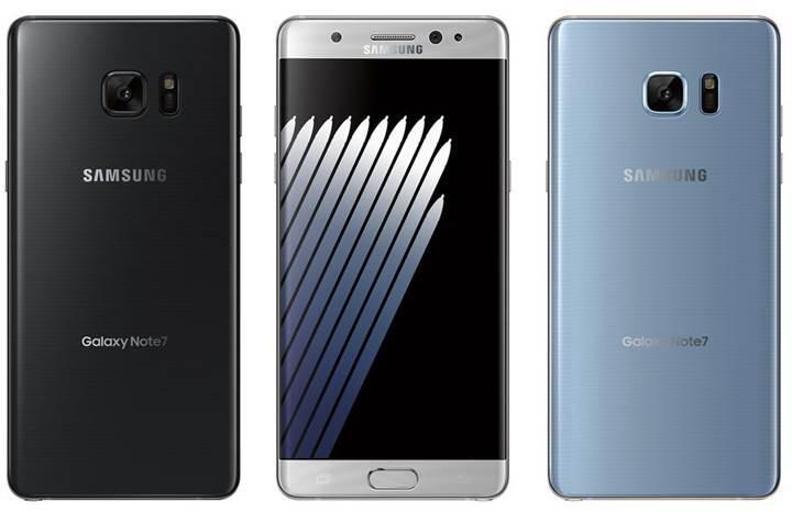 Galaxy Note 7 halen popüler