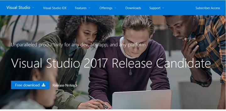 Visual Studio RC 2017'ye yeni güncelleme geldi