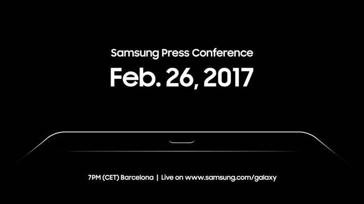 Samsung'un yeni canavarı Galaxy Tab S3, 26 Şubat'ta tanıtılacak