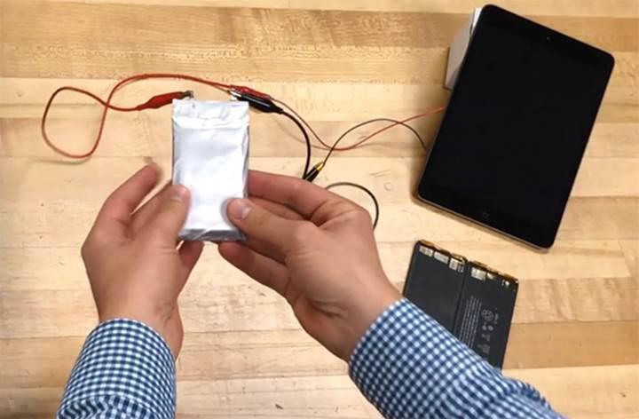 Lityum iyondan 2 kat daha fazla kapasiteli, patlama riski olmayan pil geliştirildi