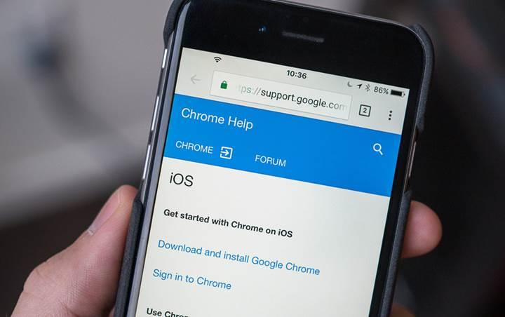 Google Chrome'un iOS sürümü açık kaynak haline geldi