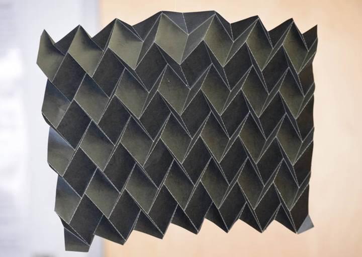 NASA'DAN Küçük uydular için origamiden esinlenilen radyatör