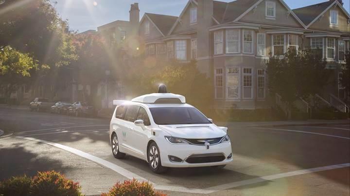 Google'ın Waymo sürücüsüz araç iştiraki önemli gelişmeler gösteriyor