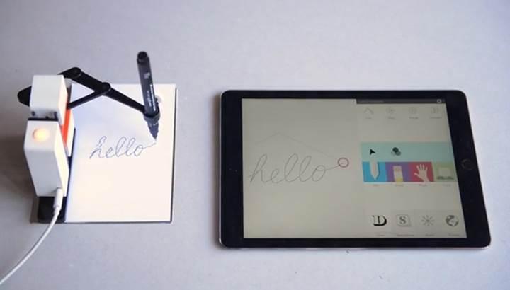 Çizim yapabilen robot kol