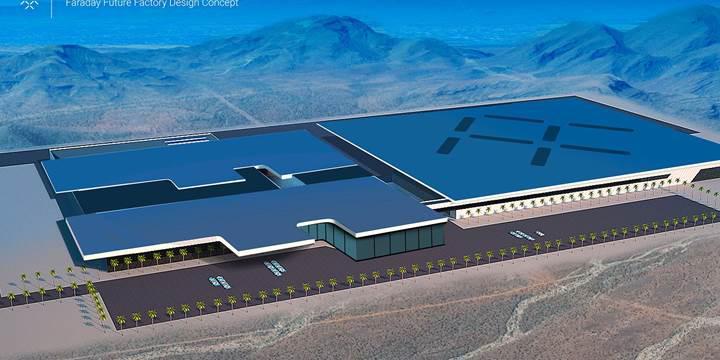 Faraday Future'ın mega fabrika hayali yalan oldu!