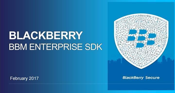 BlackBerry, şirketler için geliştirdiği güvenli mesajlaşma sistemini kullanıma sunuyor